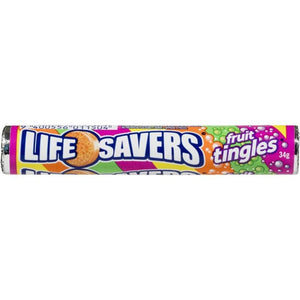 Lifesavers Fruit Tingles 34g - Best Before 10th February 2021