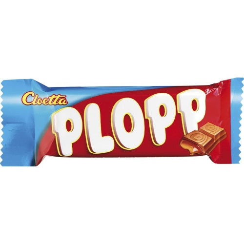 Cloetta Plopp Chocolate with Caramel Single 12g