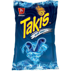 Takis Blue Heat Chili Lime Flavored Tortilla Chips 113g