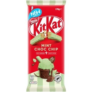 Nestle Kit Kat Mint Chocolate Chip 170g