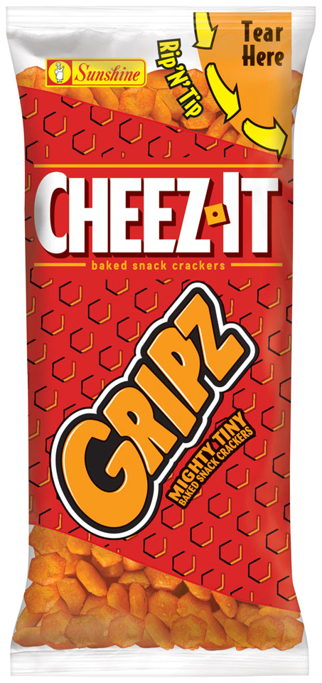 Cheez It Grips Snack Bag 25g