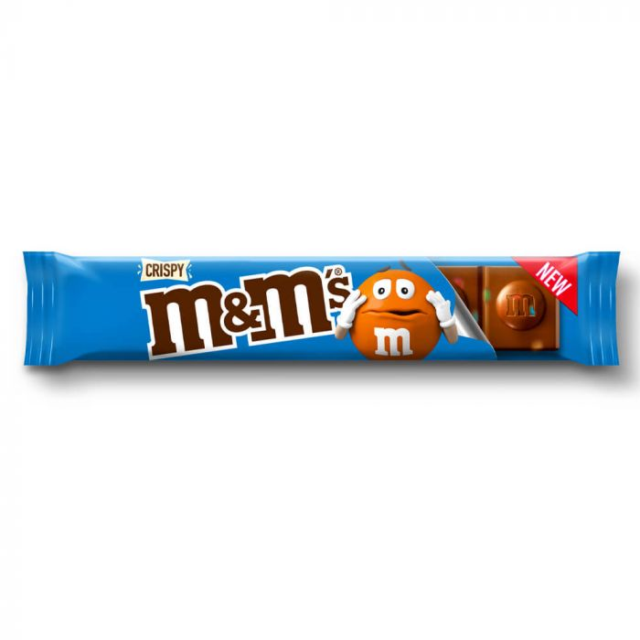 M&M's Crispy Chocolate Bar 31g