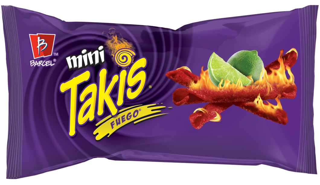 Takis Mini Fuego Snack Pack 34g