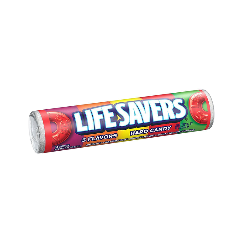 Lifesavers 5 Flavour Fruit Roll 32g