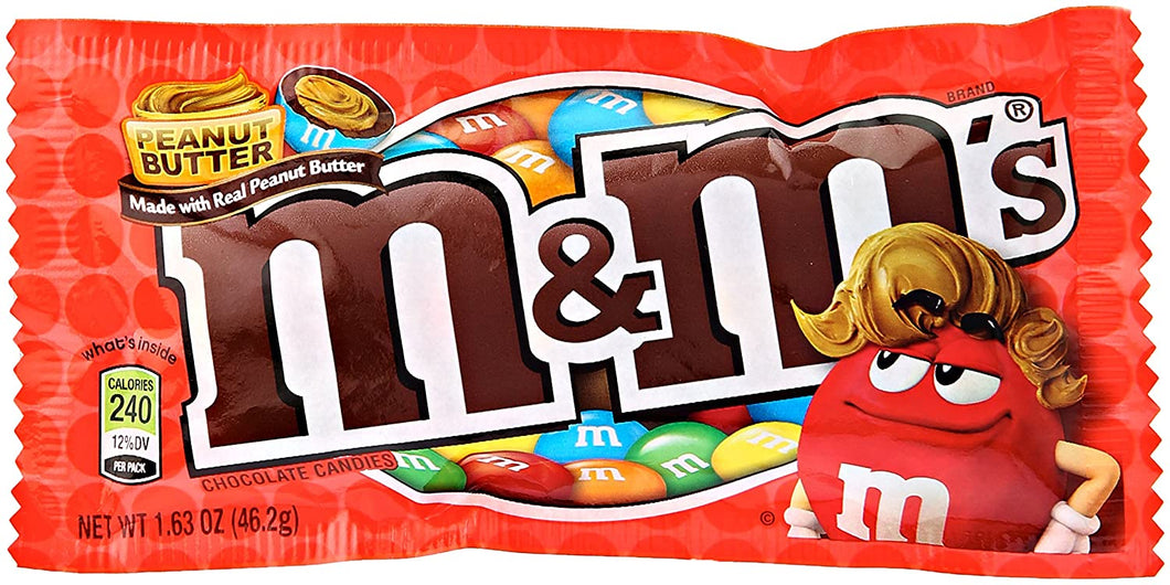 M&M's Peanut Butter Chocolate Candy 46.2g