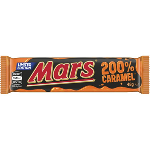 Mars 200% Caramel 48g - Best Before 12th April 2021