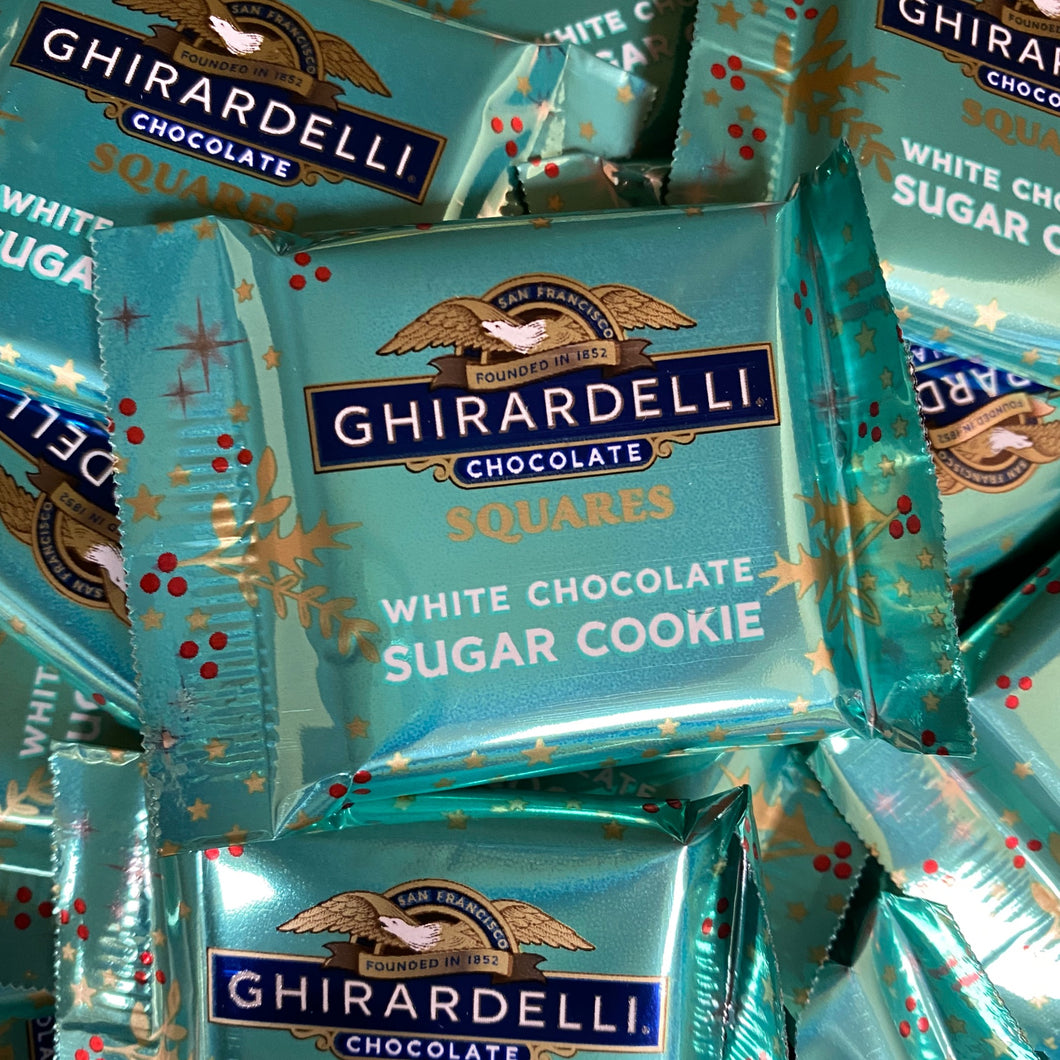 Ghirardelli White Chocolate Sugar Cookie Single