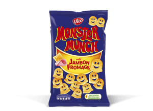 Vico Monster Munch Ham and Cheese 85g