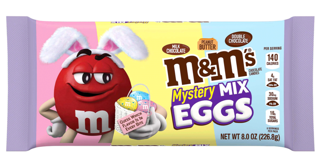 M&M Mystery Mix Eggs 226g