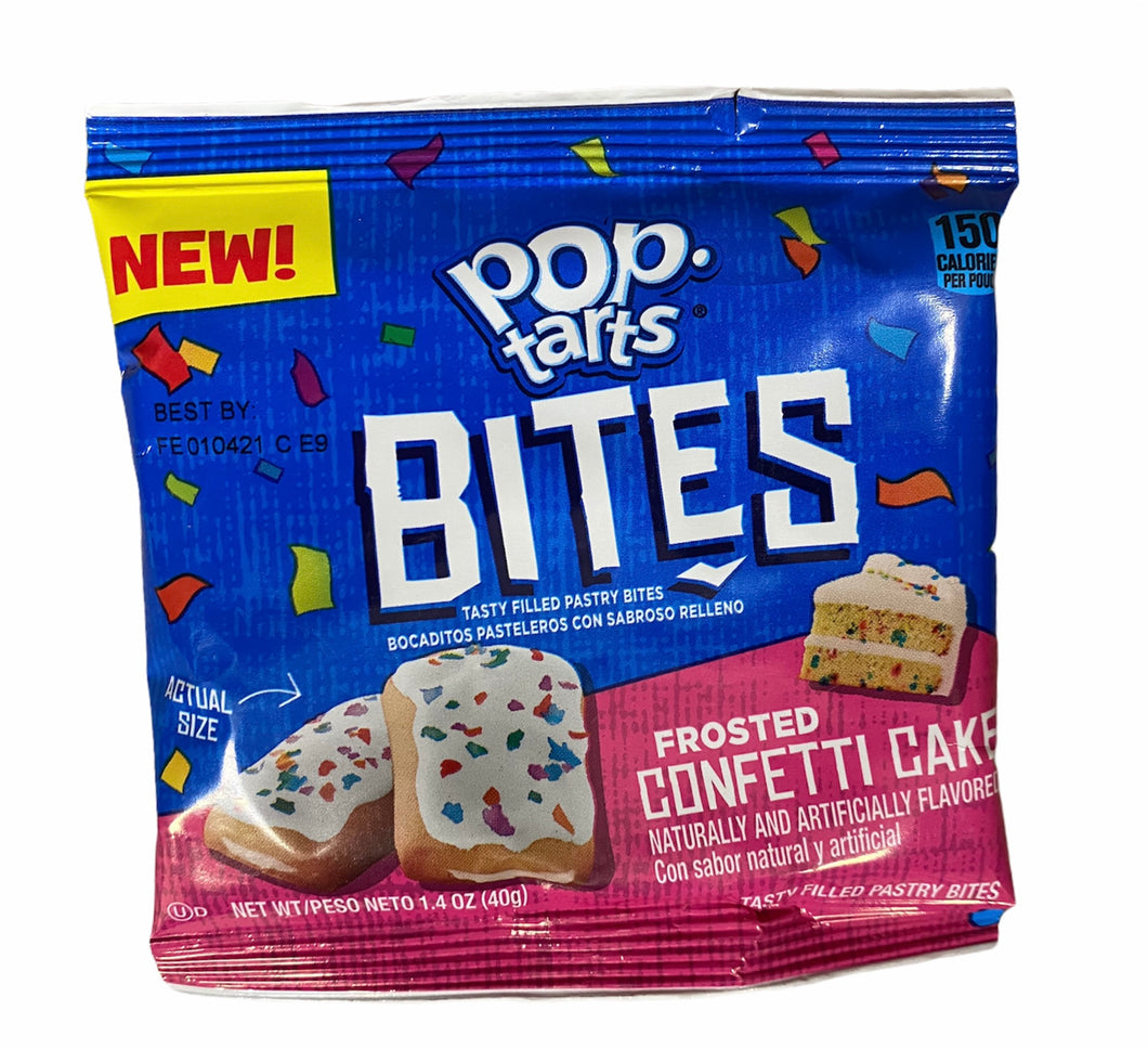Pop Tarts Bites Frosted Confetti Cake 40g