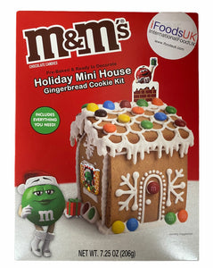 M&M Gingerbread House Cookie Kit 206g