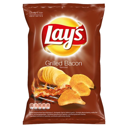 Lay's Grilled Bacon Flavoured 140g