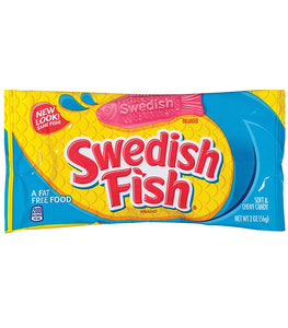 Swedish Fish Soft and Chewy Candy 56g