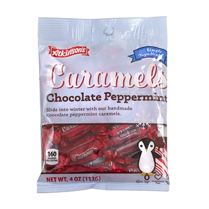 Atkinson's Caramels Chocolate Peppermint 113g