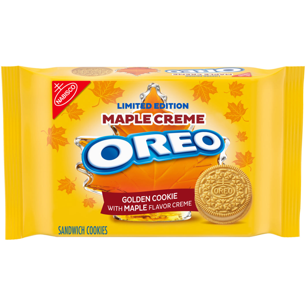 Oreo Golden Maple Creme Sandwich Cookies 345g