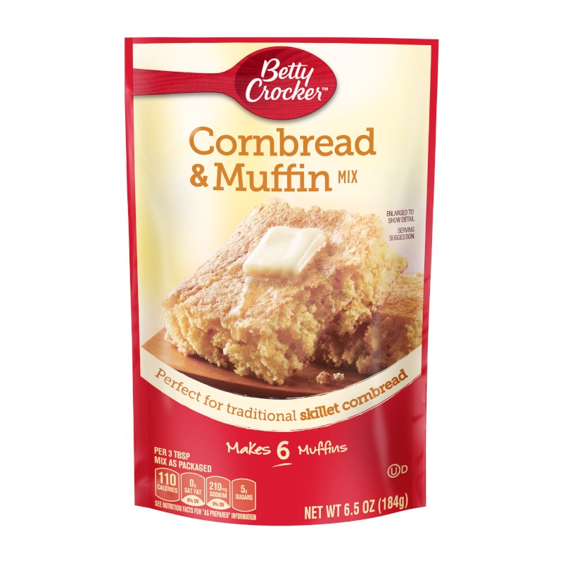 Betty Crocker Cornbread & Muffin Mix 184g