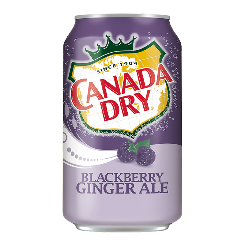 Canada Dry Blackberry Ginger Ale 355ml