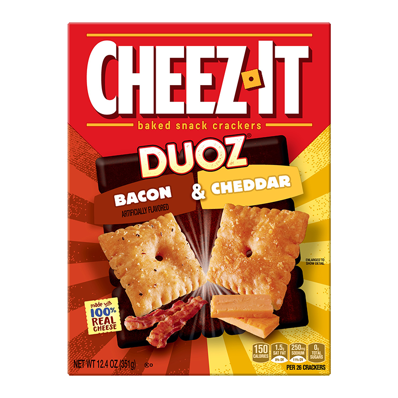 Cheez-It Duoz Bacon & Cheddar 351g