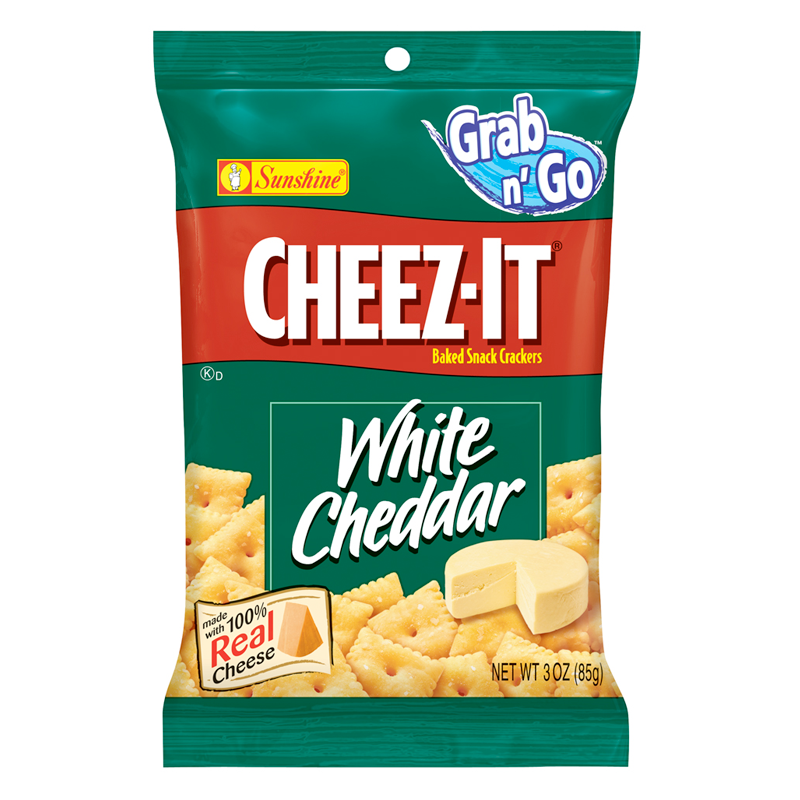 Cheez It White Cheddar Bag 85g
