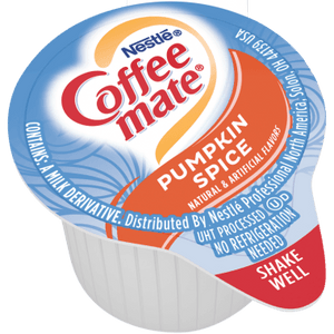Coffee Mate Pumpkin Spice Liquid Creamer Singles 11ml - Best Before End Of April 2021