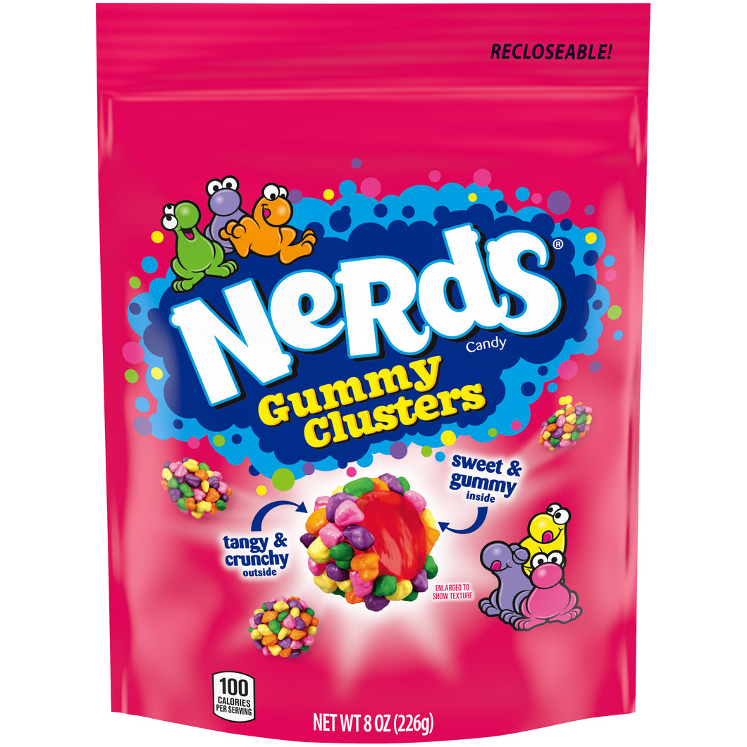 Nerds Gummy Clusters Candy 226g