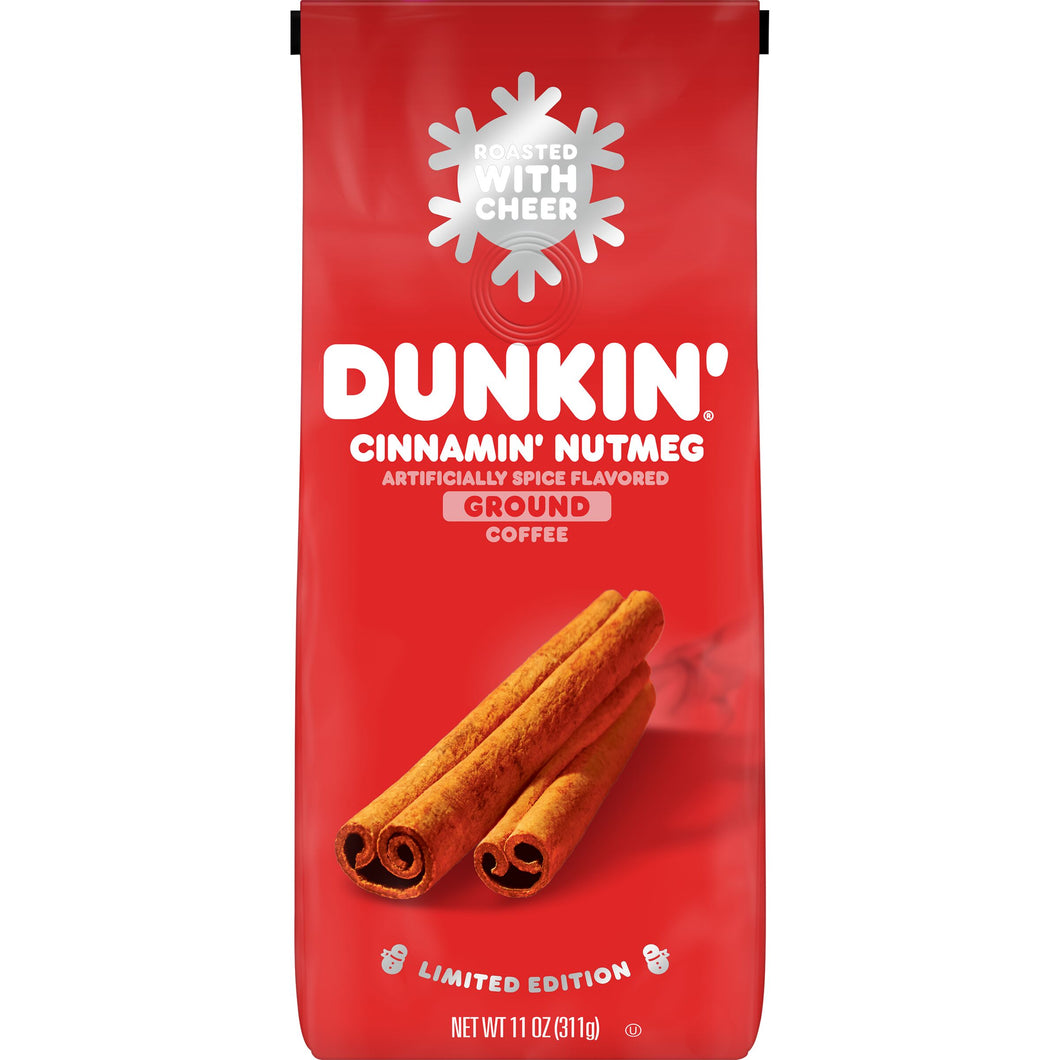 Dunkin Donuts Cinnamon Nutmeg Limited Edition Coffee 311g