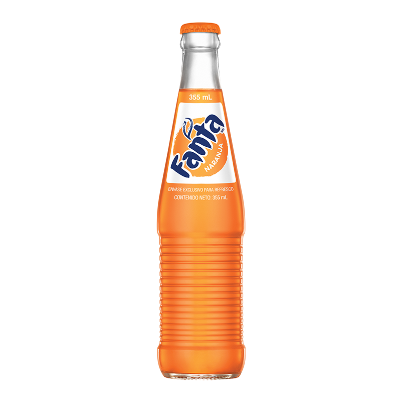 Fanta Mexican Orange Soda 355ml