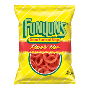 Funyuns Onion Rings Flamin' Hot Big Bag 163g