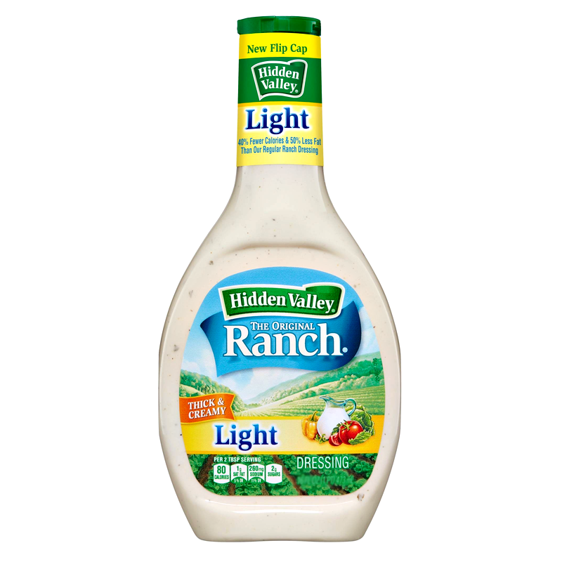 Hidden Valley Original Light Ranch Dressing 236ml