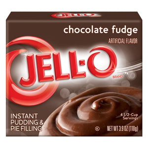 Jell-O Chocolate Fudge Instant Pudding 110g