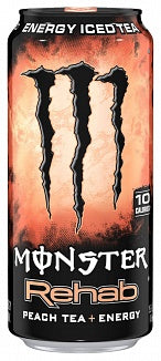 Monster Rehab Peach Tea 473ml