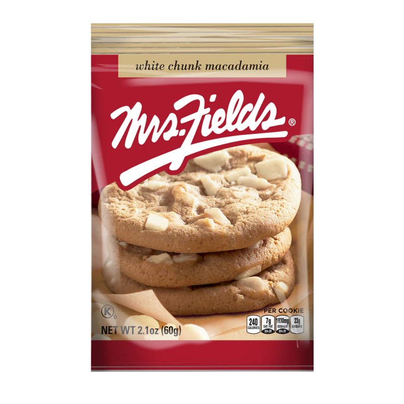 Mrs Fields White Chunk Macadamia Cookies 60g