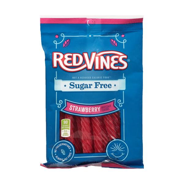 Red Vines Sugar Free Strawberry Twists 141g - Best Before 26th April 2021
