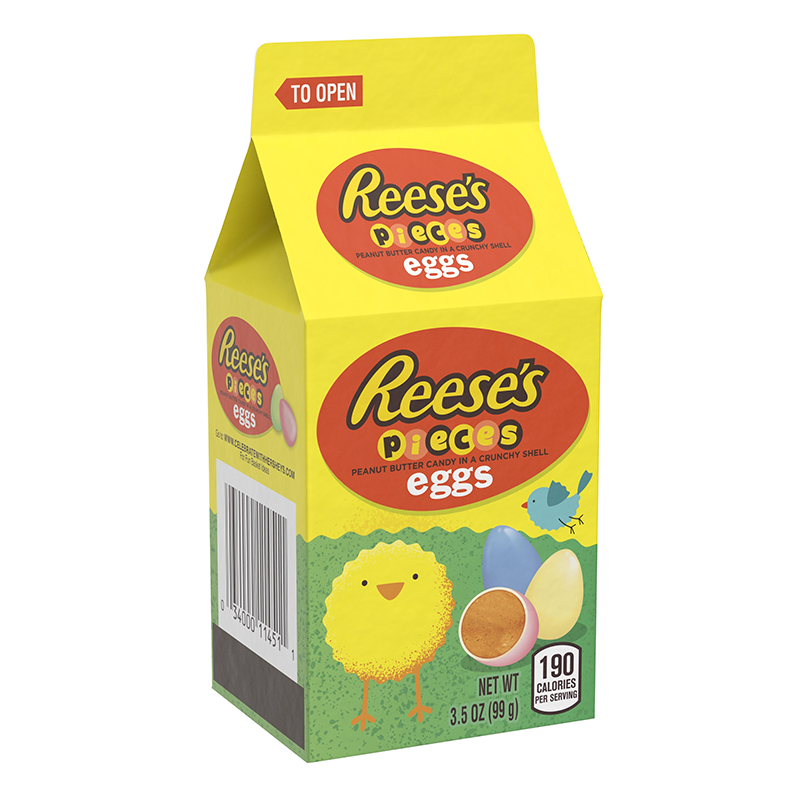 Reese's Pieces Pastel Eggs Mini Carton 99g