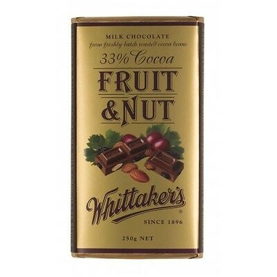 Whittakers Fruit & Nut Chocolate Block 250g