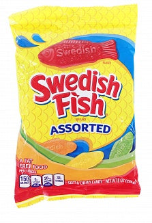 Swedish Fish Assorted 226g