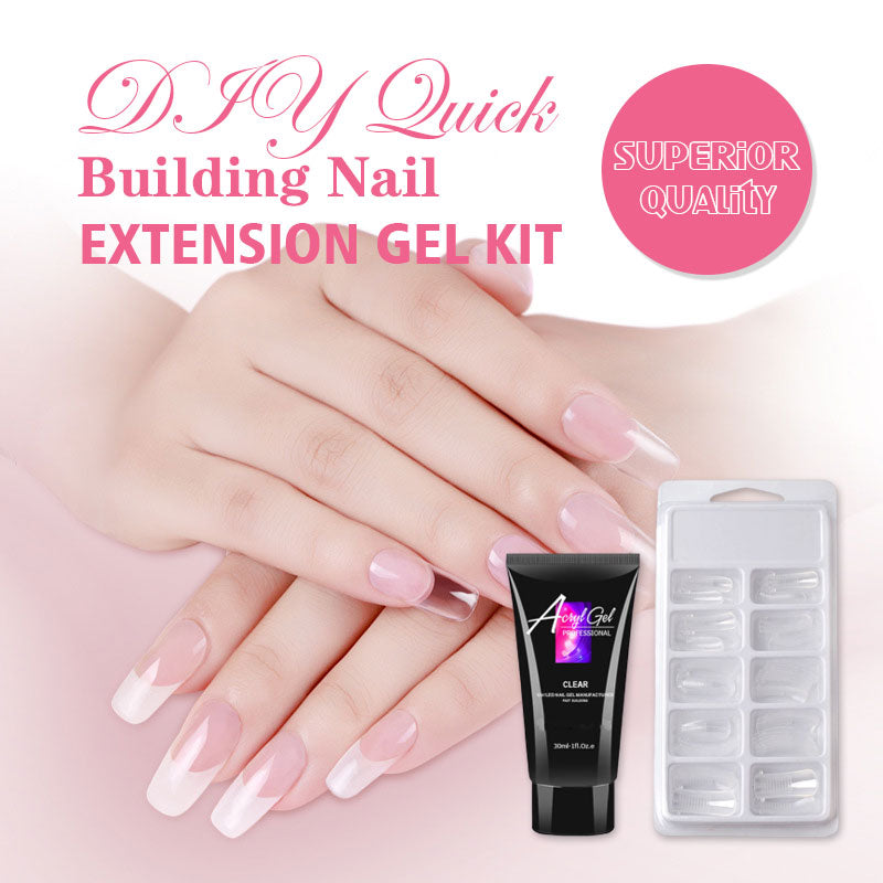 DIY Manicure Quick Building Nail Extension Gel Kit