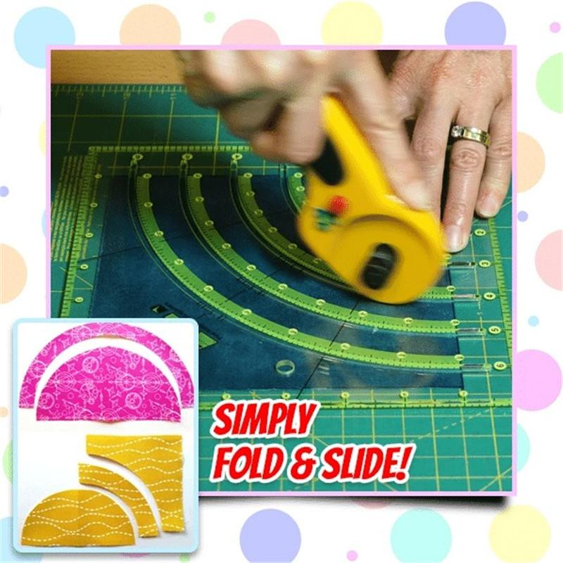 Grid Lines Acrylic Sewing Rule