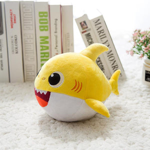 Animated Dancing Shark Plush Doll