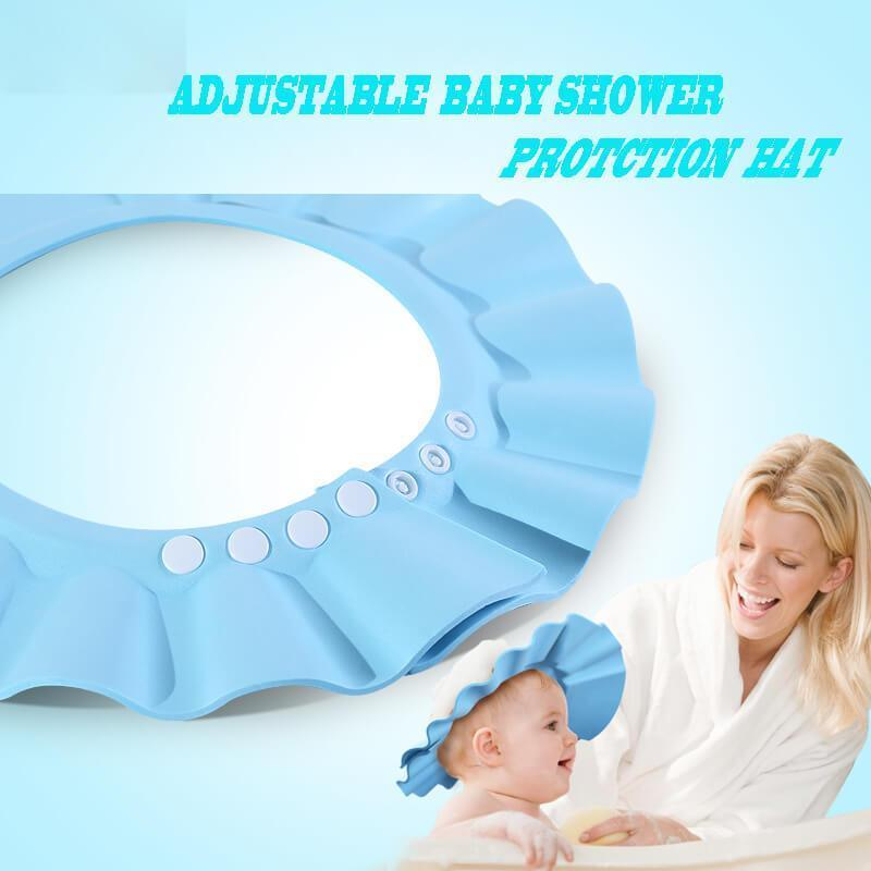 Adjustable Baby Shower Protection Hat