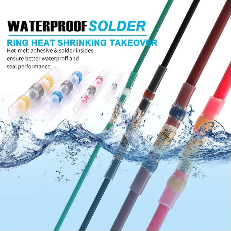 Waterproof solder ring heat shrinking takeover(50PCS)