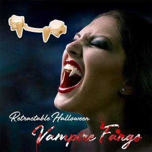 Retractable Halloween Vampire Fangs