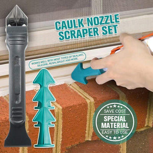 Caulk Nozzle Scraper Set