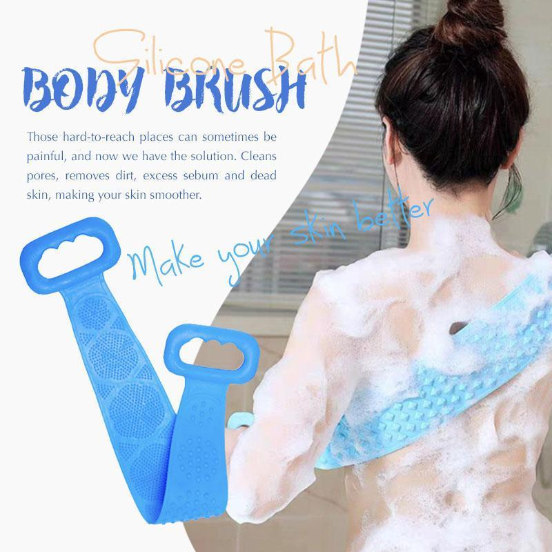 (Christmas Sale 50% OFF)Silicone Bath Body Brush(BUY 4 FREE SHIPPING)