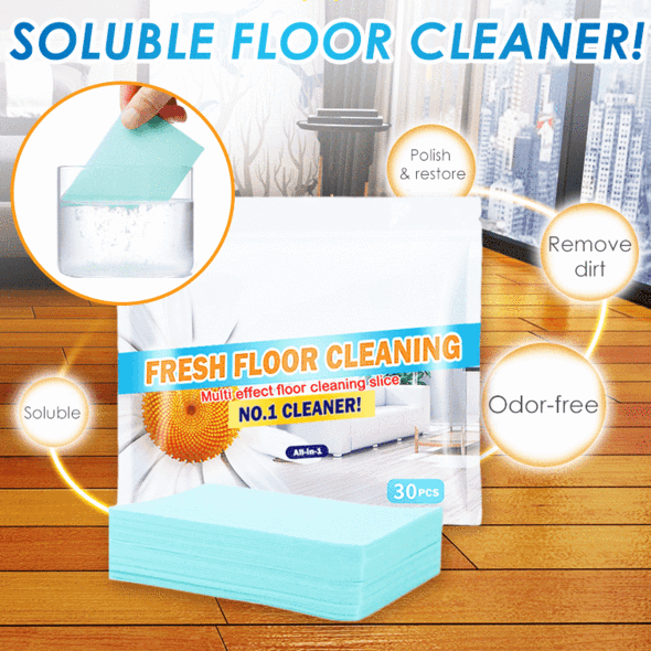 Fresh Floor Cleaning Slice  (30 Pcs/Set)