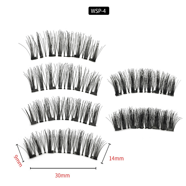Magnetic 3D eyelashes