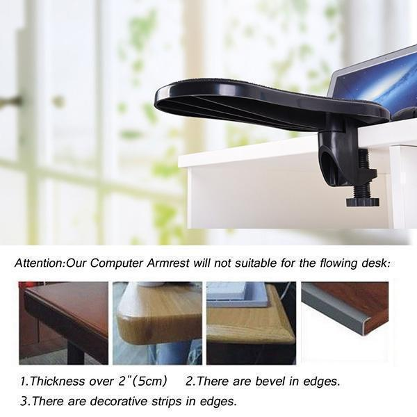 Rotating Computer Arm Support