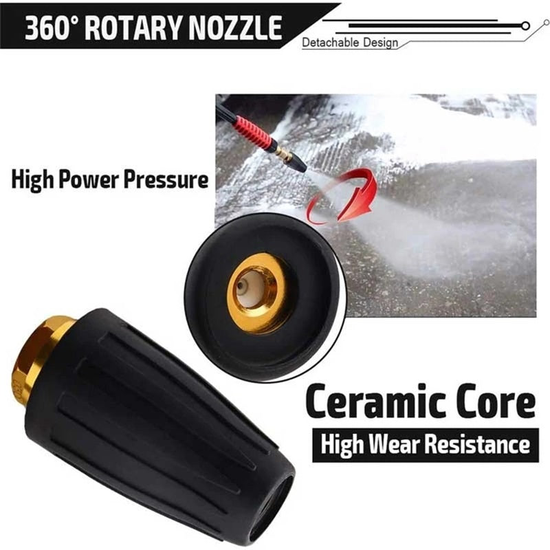 High-Pressure Rotating Nozzle