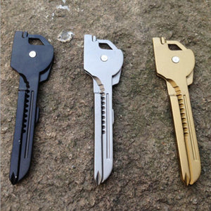 6-In-1 Outdoor Multi-function Key Knife
