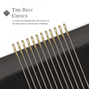 (Christmas promotion 50% OFF)Self-threading Needles